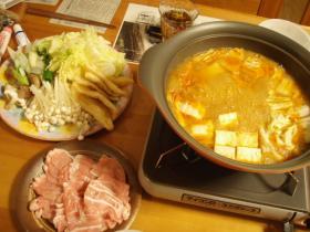 キムチ味噌鍋1