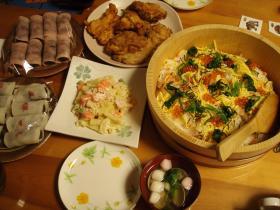 2012夕ご飯