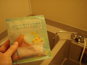 入浴剤とお風呂