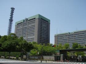 市ヶ谷建物
