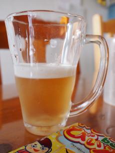 ワルビール出来上がり