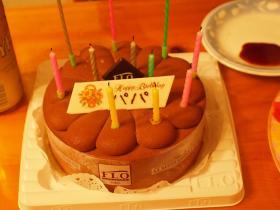 38才のケーキ