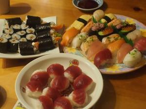 9才お誕生日寿司