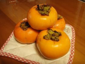 松尾さんの柿