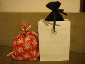 プレゼント2個