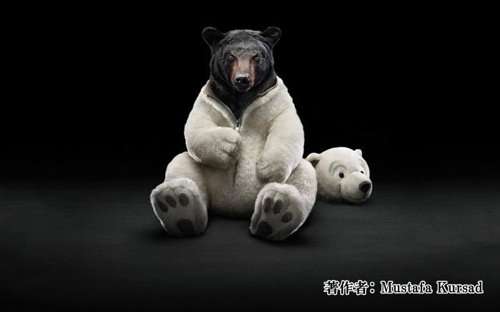 着ぐるみ熊さん