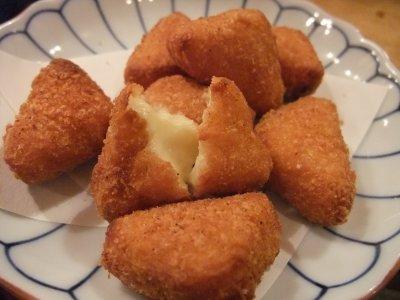 カマベールチーズ揚げ