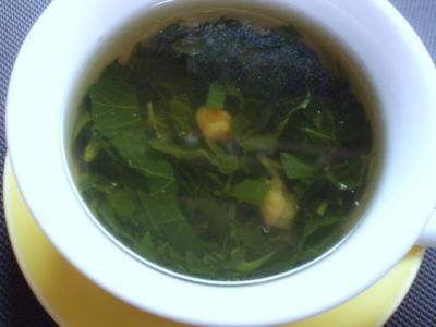 20110903モロヘイヤスープ