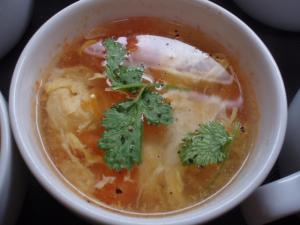 20110326トマトと卵のスープ
