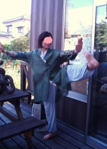 20110913太極拳ポーズ1