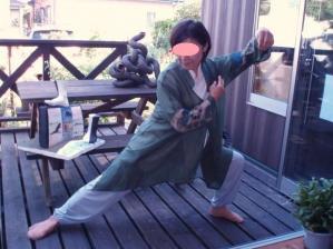 20110913太極拳ポーズ3