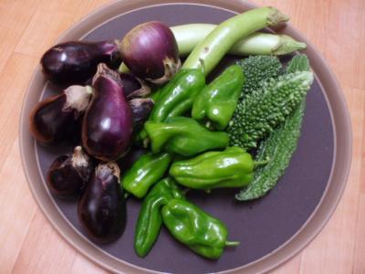 20110917手作り野菜