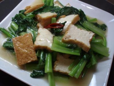 1005小松菜のベトナム風炒め