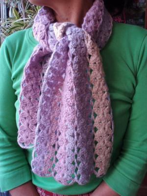 手編みマフラー2