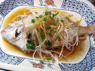 20111203鯛清蒸