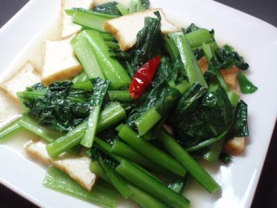 20111203ベトナム風青菜炒め