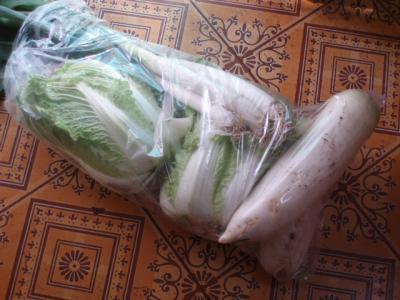 20111231大みそかの野菜