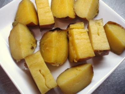 20120116安納芋の焼き芋