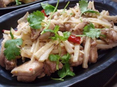 20120128タイ筍と鶏肉炒め