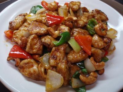 20120317鶏のチリインオイル炒め