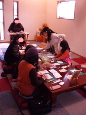 20120317パステルアート教室2回目