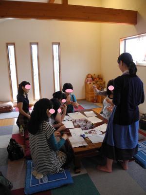 さ20120704サンキャッチャー教室2