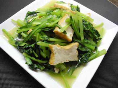 201207青菜のベトナム風炒め