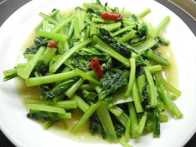 201208ベトナム風青菜炒め