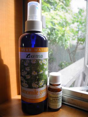 201209カモミール化粧水&ラベンダー精油