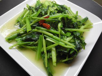 201209青菜炒め