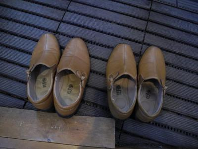 20121030同じ靴