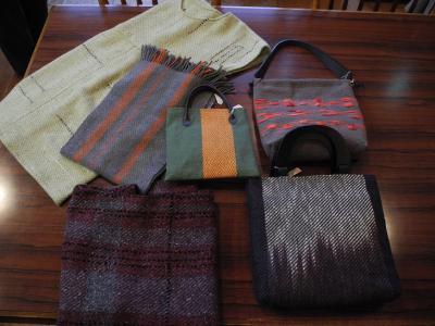 20121101手織り工房「糸遊」さん作品1
