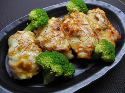 20121215秋サケのキムチチーズ焼き
