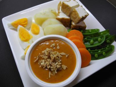 20130112湯で野菜ガドガドソース