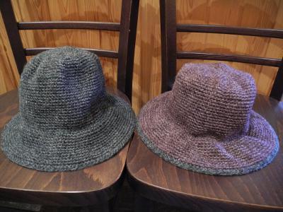 201301ニット帽紫裏