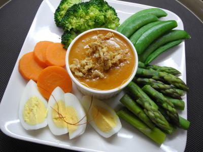 20130216温野菜ガドガドソース