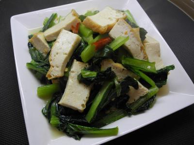 ベトナム風青菜炒め