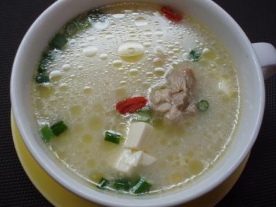 20120131スンドゥブ風スープ