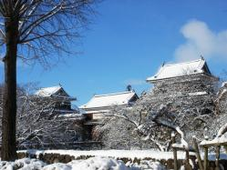 上田城 冬