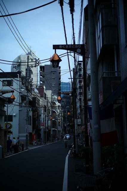本郷三丁目菊坂通り路地裏