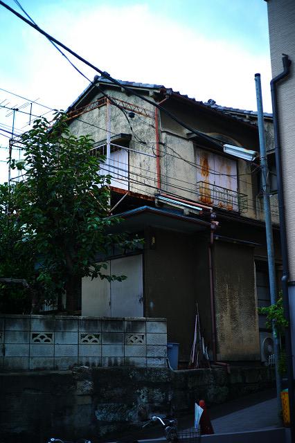 菊坂通り路地裏