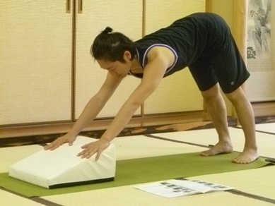 20111015Yoga x Flexcushion 1