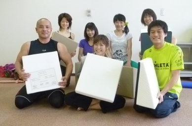 20111022Pilates x Flexcushion4