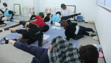 20120225Pilates with Flexcushion at Pilates Studio nano 1