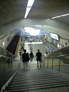 20120727梅田駅(その1)