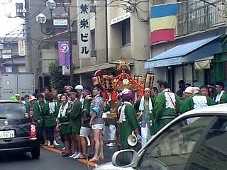 20120902自由が丘お祭り