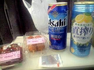 20110721新幹線呑み