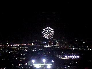 20111001二子玉川の花火(その1)