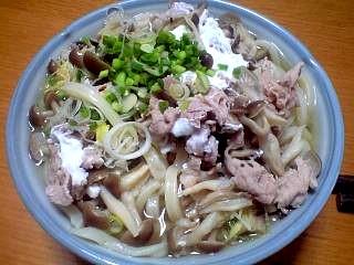 20120129肉うどん(その1)