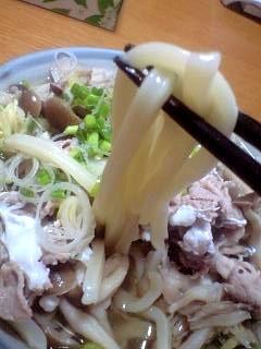 20120129肉うどん(その2)